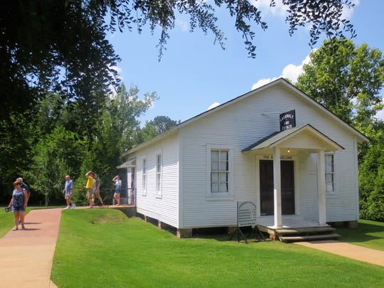 Elvis Presley's childhood church, where he was first