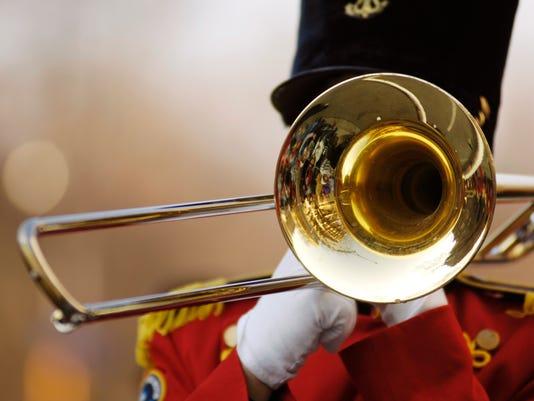 Trombone in parade