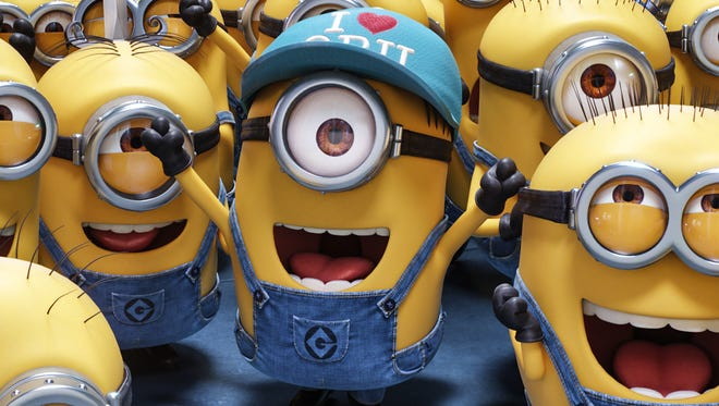 "The Minions return in ""Despicable Me 3."""