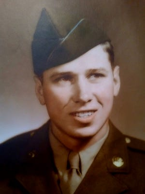 Harold Baughman served in the United States Army during WWII.He remained in Japan as part of the occupation army after the atomic bomb dropped on Hiroshima, helping rebuild by fixing telephone poles and wires.