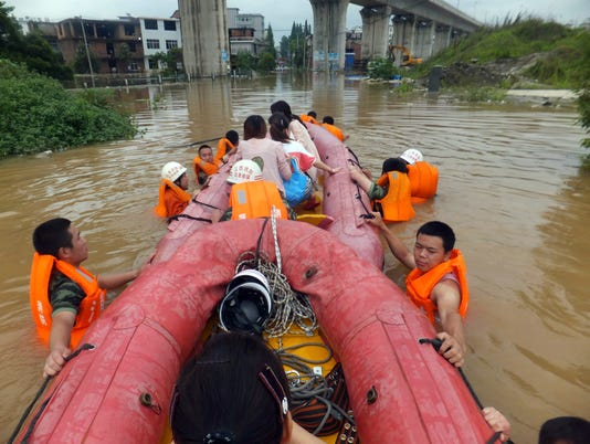 AP CHINA FLOODS DEATHS I CHN