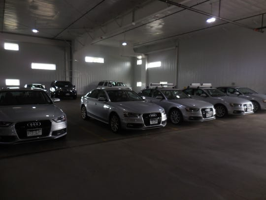 Every car Silvercar offers is a silver Audi