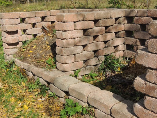 Create an attractive and useful composting area using