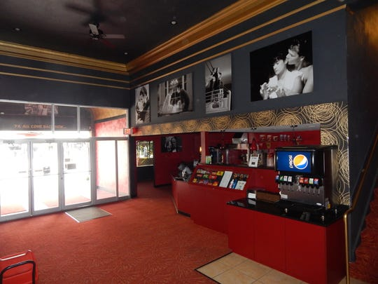 Scott and Amy Lowe remodeled Mount Pleasant's movie