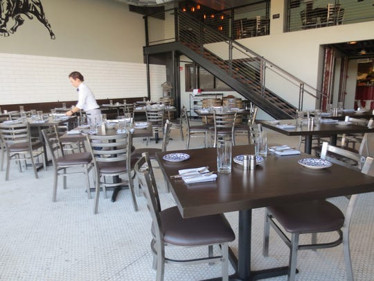 The dining room at Lurra Cocina
