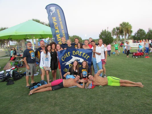 Gulf Breeze High Swimming Teams
