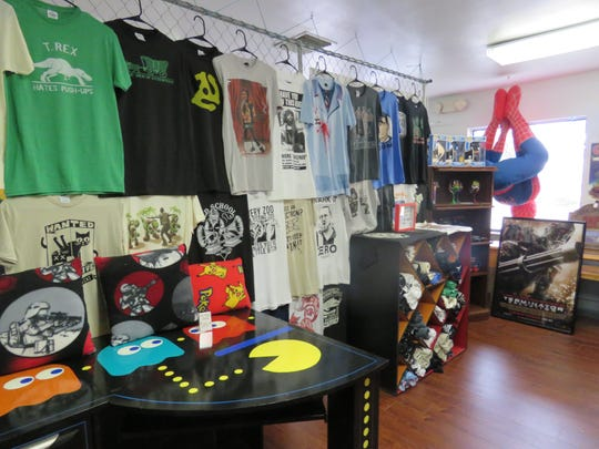 Cool t-shirts and other clothing items can be found at The Grumpy Fox.