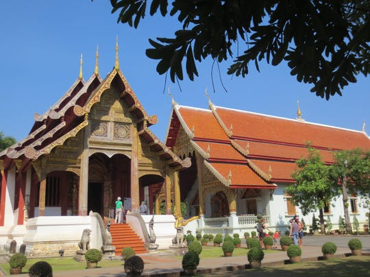 Wat Phra Singh is a 14th-century temple in the heart of Chiang Mai's old city.