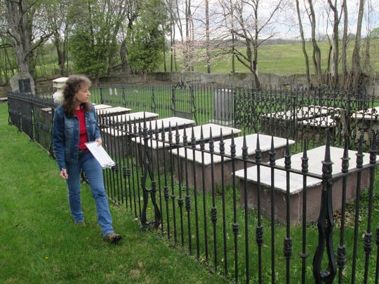 Rocky Spring cemetery, which is owned and maintained by the Franklin County Historical Society, is one of 15 cemeteries included in the society's scavenger hunt.
