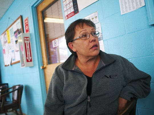 Tammi Young, 51, a Rosebud Sioux tribal member whose
