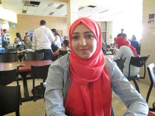 Bayan Abu Khdeir, an 18-year-old resident of East Jerusalem,