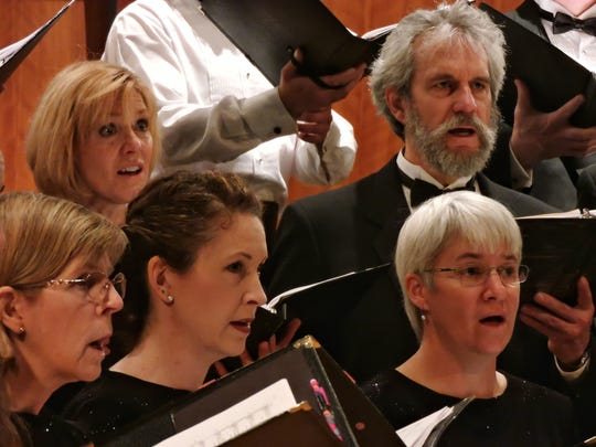 The Vermont Choral Union performs at a special Mass tonight in Burlington.