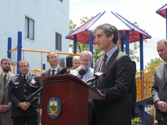 "Burlington Mayor Miro Weinberger called the attacks in Orlando ""horrific."""