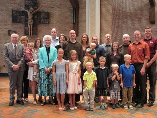 Capuchin Friar Nicholas Blattner professed first vows