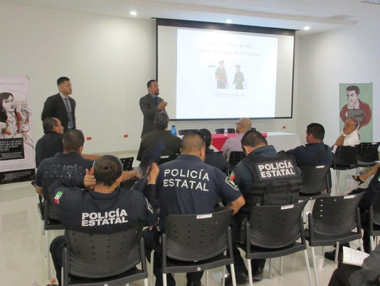 HSI agents in human trafficking conference in Juarez