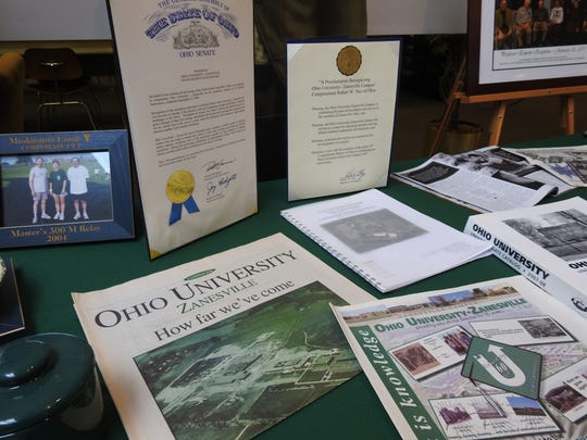 Ohio University staff and community members gather at OUZ's campus Saturday to celebrate 70 years of being in the community.
