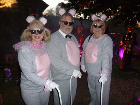 Three Blind Mice Bettina and Charles LaBoda and Jo