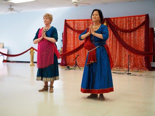 Nearly 200 celebrated Diwali Saturday at the Bridgewater