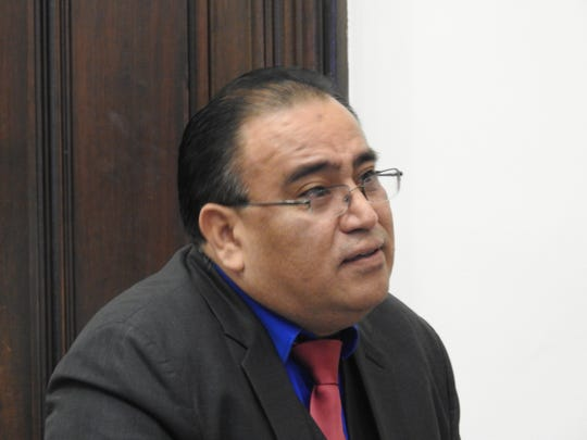 Dr. David Velasquez appeared in Coshocton County Common Pleas Court Wednesday for sentencing on felony drug charges stemming form prescribing appetite suppressants to patients of his now-closed weight-loss center.