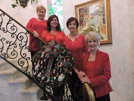 Polly Pharo, Lisa Pinkley, Jo Baxter and Paulette Holliday