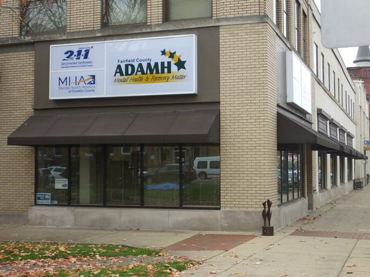 Fairfield County ADAMH Board at 108 W. Main St. in Lancaster, Ohio.