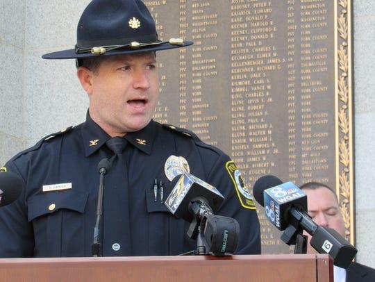 York Area Regional Police Chief Tim Damon