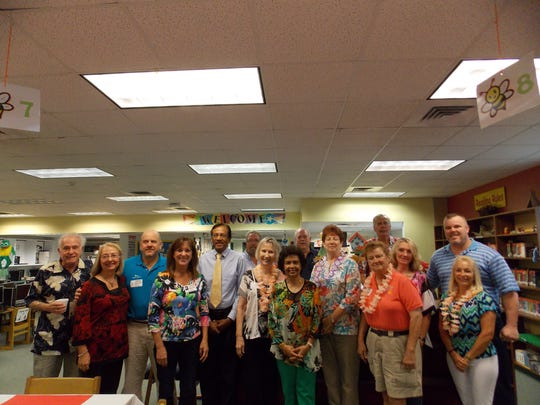 Citrus Elementary School honors Sunrise Rotary Vero Beach with a special breakfast.