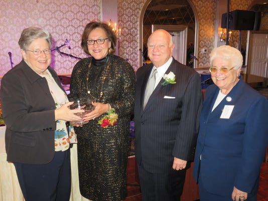 Heartbeats: Trinitas Regional Medical Center CEO, wife, receive award PHOTO CAPTION
