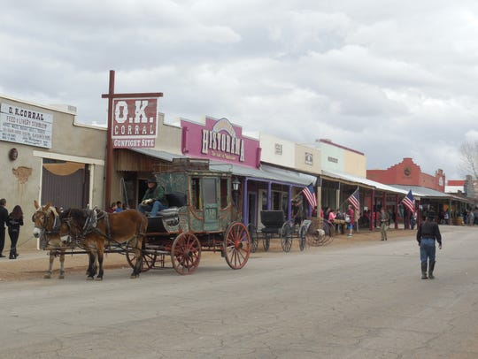 Tombstone, Arizona, is best known for the Gunfight