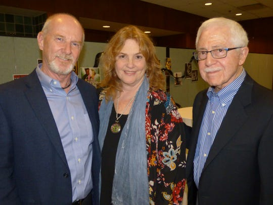 Bloomfield Hills residents Gordon Cox and his wife Laurie Tennent; and Arnold Hirsch of Birmingham. Tennent was honored with the FAR Hero Award.