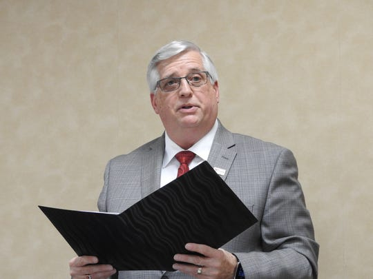 Coshocton Mayor Steve Mercer deliverd his annual State of the City Address Monday night in Council Chambers.