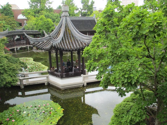 Lan Su Chinese Garden is a relaxing sanctuary hidden