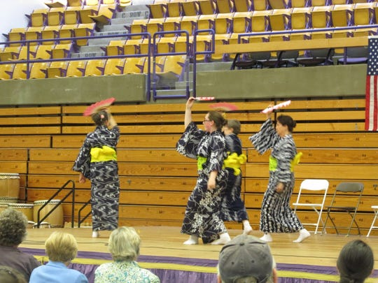 Demonstrations of Japanese culture will be presented Sunday at St. Michael's College in Colchester.