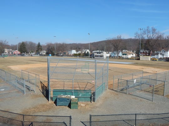 DeLazier Field in Bloomingdale where a minor league baseball team once played and Babe Ruth made an appearance.
