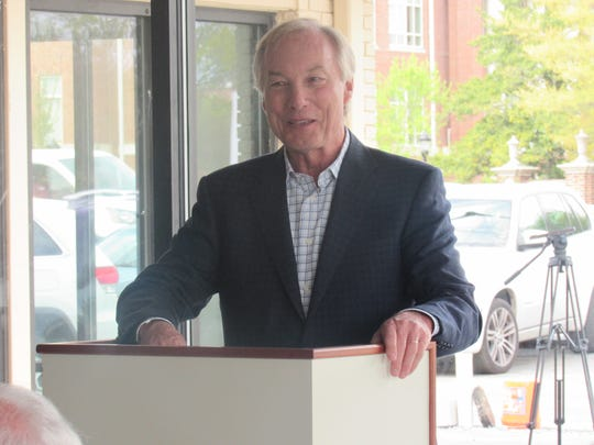 Maryland Comptroller Peter Franchot honored Delmarva