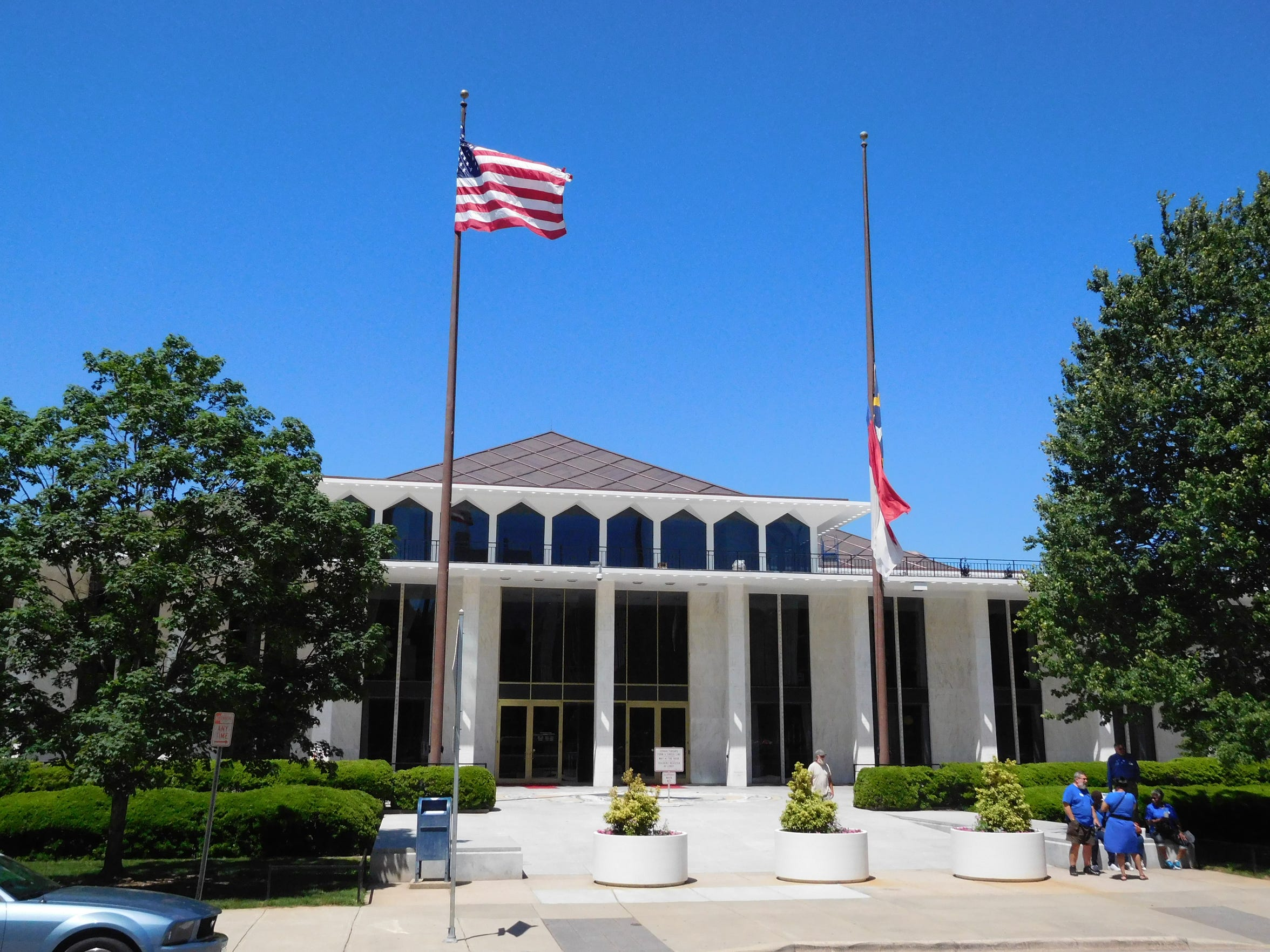 The N.C. Legislative Building in Raleigh.