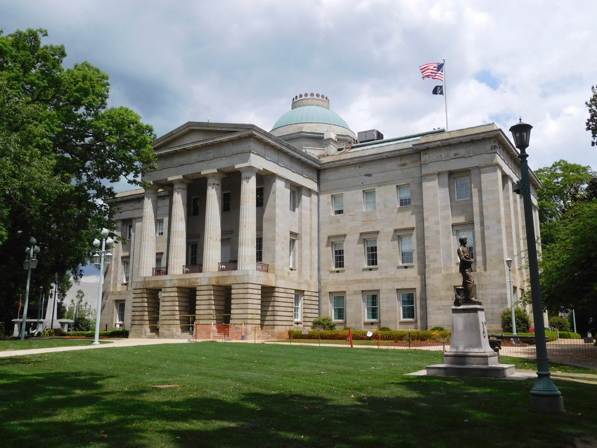 The N.C. Capitol Building in Raleigh. Douglas Shackelford, dean of UNC Chapel Hill's Kenan-Flagler School of Business, says experts are skeptical about the idea that lower taxes can have a major impact on a state's economy in short order.