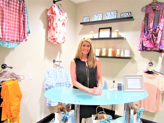 Beth Melhorn opened her second boutique, BB Style, in the new Saah Salon Suites.