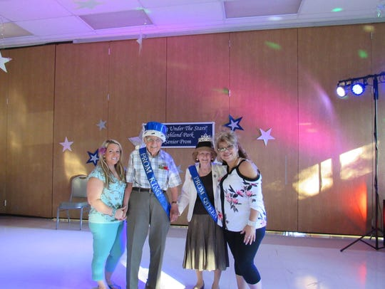 """The 13th Annual Senior (Citizens) Prom """"Dancing Under"""