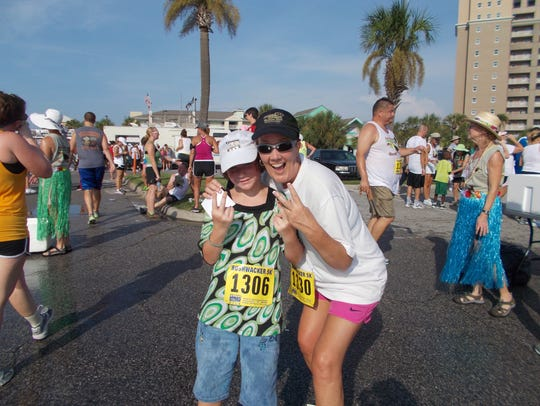 """Littles"" and their mentors are encouraged to participate in the Bushwacker 5K on Saturday, which benefits Big Brothers Big Sisters. The charity pairs children facing adversity with mentors known as ""Bigs"" who inspire them to achieve success in life."