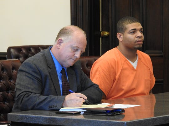 Public Defender Jeff Mullen entered pleas of not guilty for Damaris Strupe on charges relating to a home invasion Monday in Coshocton County Common Pleas Court.