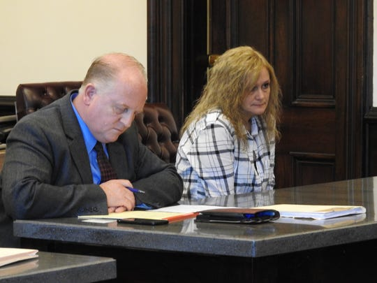 Public Defender Jeff Mullen entered a plea of not guilty for Dawn E. Wears Monday in Coshocton County Common Pleas Court on a charge of complicity to commit burglary connected to a home invasion case.