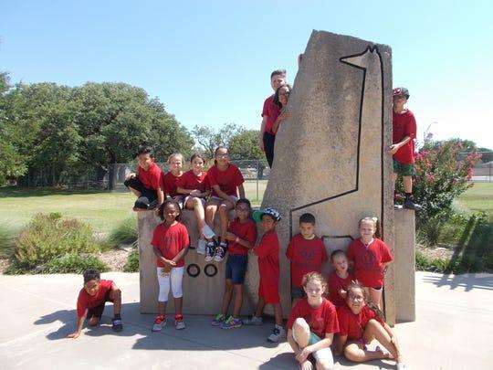 Children from the Day Nursery of Abilene's Vine Street