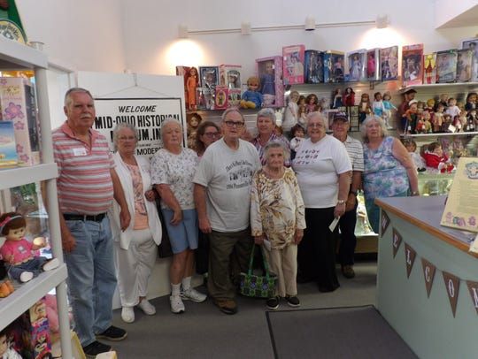 Members of the Pleasantville Sociables visited the