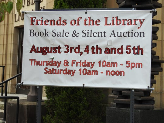 The Friends of the Library is having its annual book