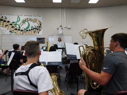 VVHS school 2017 band