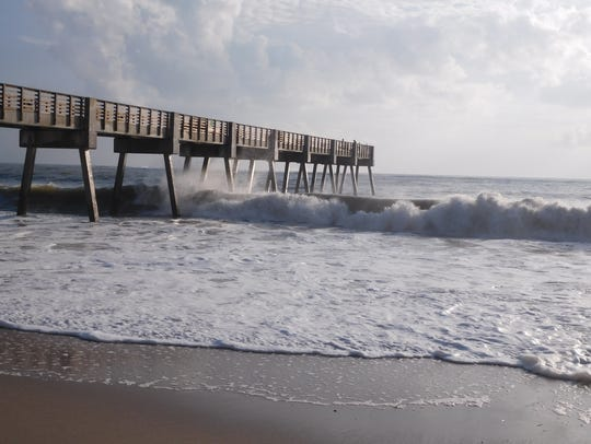 The ocean surf is expected to be rough again this weekend
