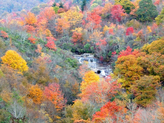 """""""Graveyard Fields is an extremely popular place to"""