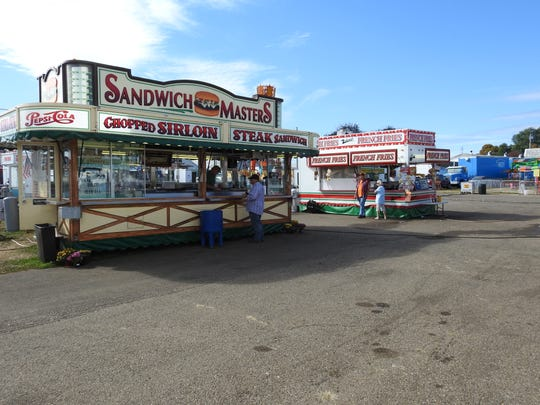 Food stands are a popular attraction at the Coshocton County Fair.