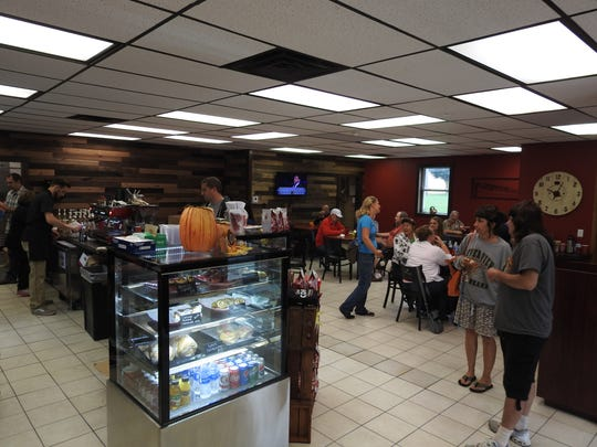 Coshocton Coffee Connections had a grand opening this week. Employees donate tips to local charitable organizations.